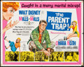 "Movie Posters:Comedy, The Parent Trap (Buena Vista, 1961). Folded, Fine+. Half Sheet (22""X 28""). Comedy.. ..."