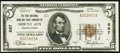 National Bank Notes:Pennsylvania, Mount Joy, PA - $5 1929 Ty. 1 The First NB & TC Ch. # 667. ...
