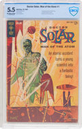 Silver Age (1956-1969):Science Fiction, Doctor Solar, Man of the Atom #1 (Gold Key, 1962) CBCS FN- 5.5 Off-white to white pages....