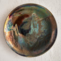 Other, Clément Massier (French, 1835-1917). Sunset Charger, circa 1900. Lustre glazed earthenware. 10 inches diameter (25.4 cm)...