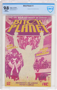 Bitch Planet #1 (Image, 2014) CBCS NM/MT 9.8 White pages