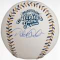 Autographs:Baseballs, 2002 All Star Game Derek Jeter Single Signed Baseball. ...