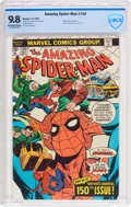 Bronze Age (1970-1979):Superhero, The Amazing Spider-Man #150 (Marvel, 1975) CBCS NM/MT 9.8 Off-white to white pages....