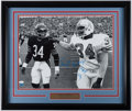 Football Collectibles:Photos, Earl Campbell Signed Oversized Photograph. ...