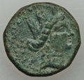 Ancients:Ancient Lots , Ancients: ANCIENT LOTS. Greek. Lot of five (5) AR and AEmiscellaneous denominations. Fine-VF.... (Total: 5 coins)