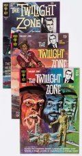 Silver Age (1956-1969):Horror, Twilight Zone Group of 4 (Gold Key, 1964-69) Condition: AverageVF-.... (Total: 4 Comic Books)
