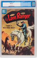 Silver Age (1956-1969):Western, Lone Ranger #102 (Dell, 1956) CGC NM 9.4 Off-white pages....