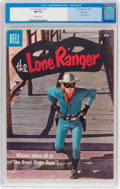 Silver Age (1956-1969):Western, Lone Ranger #116 File Copy (Dell, 1958) CGC NM 9.4 Off-whitepages....