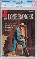 Silver Age (1956-1969):Western, Lone Ranger #133 (Dell, 1960) CGC NM 9.4 Cream to off-whitepages....