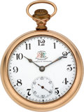 Timepieces:Pocket (post 1900), Ball & Co. 999 Official BRT Standard. ...