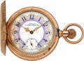Timepieces:Pocket (pre 1900) , Waltham 14k Gold Model 72 With O'Hara Dial, circa 1884. ...