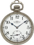 Timepieces:Pocket (post 1900), Ball Watch Co. Rare 23 Jewel Official Standard With Delong's Escapement. ...
