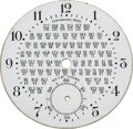 Timepieces:Other , C.K.Colby Rare Fractional Rate Dial. ...