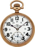 Timepieces:Pocket (post 1900), Ball Watch Co. 23 Jewel Illinois Made Official Standard. ...