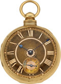 Timepieces:Pocket (pre 1900) , Vale & Co. Coventry Heavy 18k Gold Cased Lever Fusee, circa1818. ...
