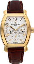Timepieces:Wristwatch, Vacheron Constantin Ref. 42008/2 18k Gold Royal Eagle ChronometerDay & Date. ...