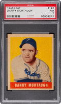 Baseball Cards:Singles (1940-1949), 1948 Leaf Danny Murtaugh #142 PSA NM 7....