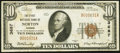 National Bank Notes:Kansas, Norton, KS - $10 1929 Ty. 1 The First NB Ch. # 3687. ...