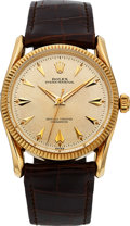 "Timepieces:Wristwatch, Rolex Ref. 6539 Very Choice Yellow Gold ""Bombay"", circa 1956. ..."