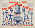 Political:Posters & Broadsides (1896-present), Al Smith: Wonderful Babe Ruth Endorsement Poster....