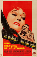 "Movie Posters:Film Noir, Sunset Boulevard (Paramount, 1950). Argentinean One Sheet (28.75"" X43.5"").. ..."