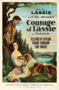 """Movie Posters:Drama, Courage of Lassie (MGM, 1946). One Sheet (27"""" X 41..."""