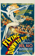 "Movie Posters:Musical, Flying Down to Rio (RKO, R-Late 1930s-Early 1940s). Canadian One Sheet (26.25"" X 41.5"").. ..."