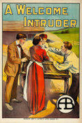 Movie Posters:Drama, A Welcome Intruder (General Film, 1913). British O...