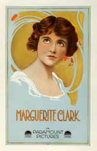 "Marguerite Clark (Paramount, Late 1910s). Stock Personality One Sheet (26.75"" X 41.75"")"