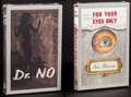 Movie Posters:James Bond, Dr. No & For Your Eyes Only by Ian Fleming (First EditionLibrary, c. 1981-1993). Unopened Facsimile Hardcover Books (2)(M... (Total: 2 Items)
