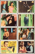 "Movie Posters:Action, To Trap a Spy (MGM, 1966). Lobby Card Set of 8 (11"" X 14"").Action.. ... (Total: 8 Items)"