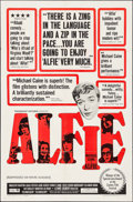 "Movie Posters:Comedy, Alfie & Other Lot (Paramount, 1966). One Sheet (27"" X 41"") & Spanish One Sheet (27.5"" X 39.5""). Comedy.. ... (Total: 2 Items)"