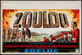 "Movie Posters:War, Zulu (Paramount, 1964). Belgian (14"" X 22""). War.. ..."