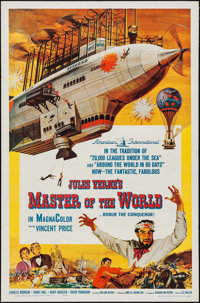 """Master of the World (American International, 1961). One Sheet (27"""" X 41""""). Science Fiction"""
