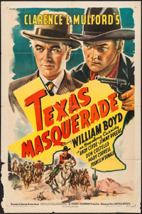 """Texas Masquerade (United Artists, 1944). One Sheet (27"""" X 41""""). Western"""