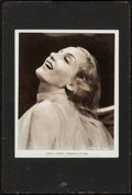 "Movie Posters:Miscellaneous, Carole Lombard (Paramount, 1937). Portrait Photo on Board (8"" X 10"" on 10"" X 15"" Board). Miscellaneous.. ..."