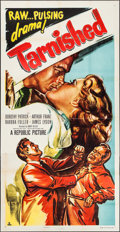 "Movie Posters:Action, Tarnished (Republic, 1950). Three Sheet (41"" X 80""). Action.. ..."