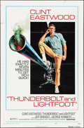 """Movie Posters:Crime, Thunderbolt and Lightfoot (United Artists, 1974). One Sheet (27"""" X 41"""") Style C. Crime.. ..."""