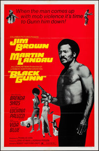 "Black Gunn (Columbia, 1972). One Sheet (27"" X 41""). Blaxploitation"