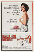 """Movie Posters:Drama, Butterfield 8 (MGM, 1960). One Sheet (27"""" X 41""""). Drama.. ..."""