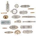 Estate Jewelry:Brooches - Pins, Diamond, Multi-Stone, Synthetic Stone, Seed Pearl, Enamel, Platinum, Gold Brooches. ... (Total: 20 Items)