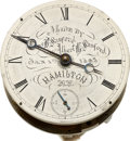 Timepieces:Other , Parsons Institute Peoria Ill. Rare Model, Circa 1893. ...