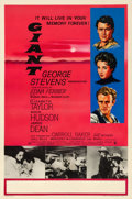 "Movie Posters:Drama, Giant (Warner Brothers, 1956). British Double Crown (20"" X 30"")....."