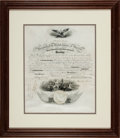 Autographs:U.S. Presidents, Abraham Lincoln Naval Appointment Signed...