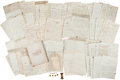 Military & Patriotic:Civil War, Union Brevet Brigadier General William Henry Noble Archive of Letters and Personal Items. ...