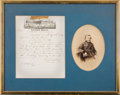 Autographs:U.S. Presidents, Ulysses S. Grant Autograph Document Signed with Photograph....
