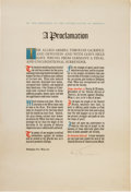 Autographs:U.S. Presidents, Harry S. Truman Proclamation of German Surrender Signed. ...