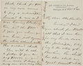 Autographs:U.S. Presidents, Ulysses S. Grant Autograph Letter Signed as President. ...