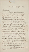 Autographs:U.S. Presidents, Andrew Jackson Document Signed as President. ...