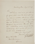 Autographs:U.S. Presidents, Zachary Taylor Letter Signed as President. ...